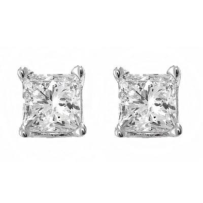 Diamond Earring Collection at Baggett's Jewelry
