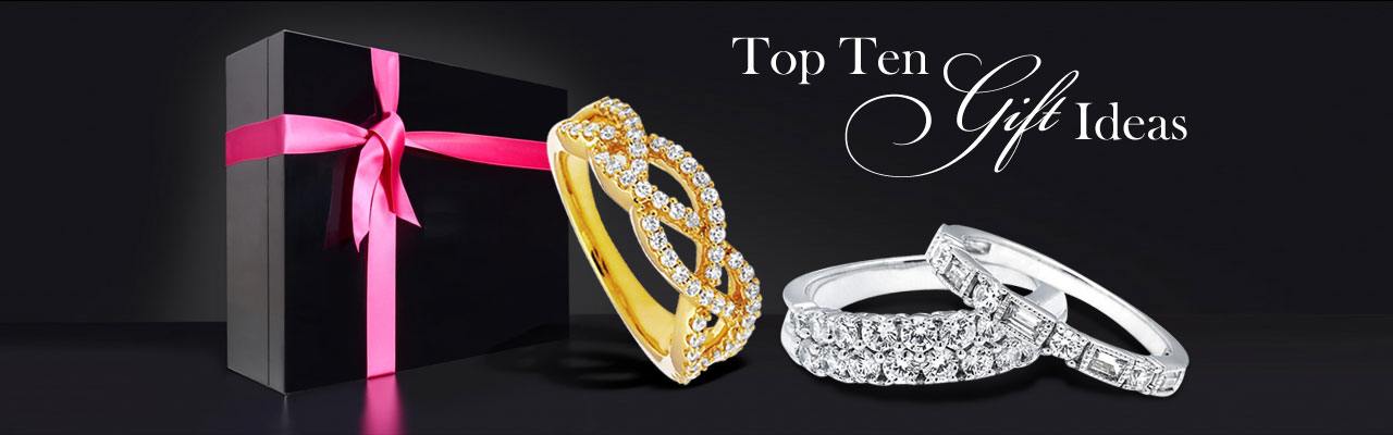 Top Ten Gift Ideas at Baggett's Jewelry