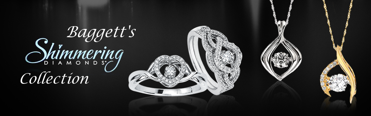 Shimmering Diamond Collection at Baggett's Jewelry
